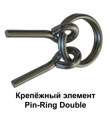 Крепёжный элемент Pin-Ring Double